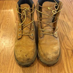 Used Timberland Boots Size (kids 5) Women's 7